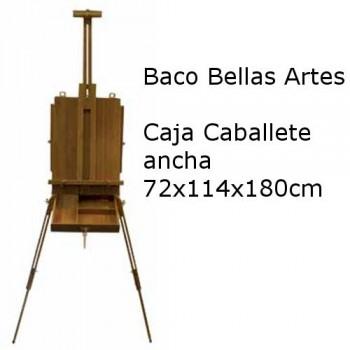 CAJA CABALLETE ARTIST 72x114x180 cm