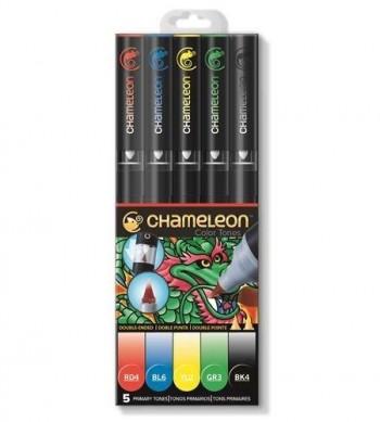 Set 5 rotuladores Chameleon - Primary Tones