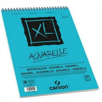 Album Espiral Microperforado Canson XL Aquarelle Fino 300g/m2