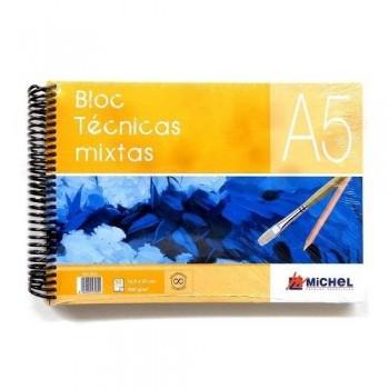 Bloc espiral Técnicas Mixtas Michel 30H 300g
