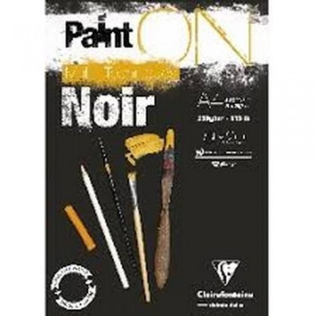 Bloc Paint'On Noir 20H 250g
