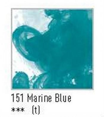 N.151 FW TINTA ACRÍLICA MARINE BLUE