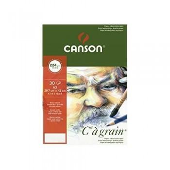 PACK 8H A3 Canson C à Grain Fino 220g DIBUJO