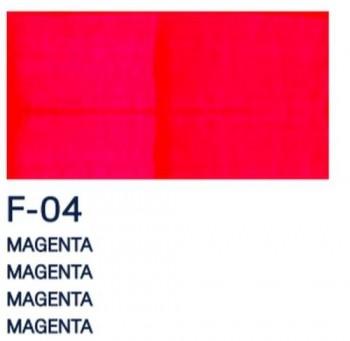 PAJARITA ACRI. FLUOR. F-04 MAGENTA