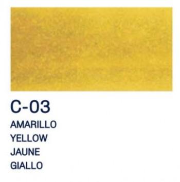 PAJARITA L. T. CRISTAL 50ml C-03 AMARILLO