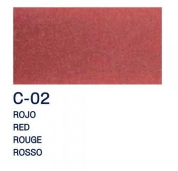 PAJARITA L. T. CRISTAL 50ml C-02 ROJO