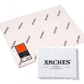 PACK 10 Hojas Arches Aquarelle  300g/m2