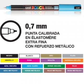 POSCA PC-1MR EXTRAFINO 0,7mm