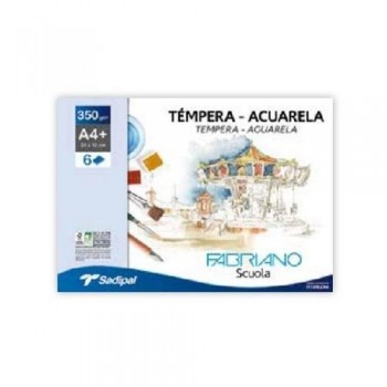 PACK 6H 350g ACUA. FABRIANO