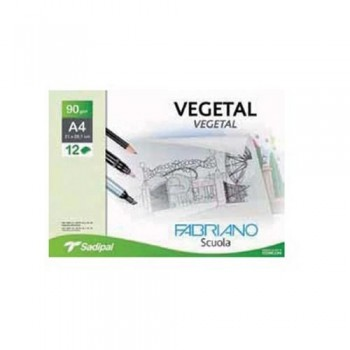 PACK 12H 90g VEGETAL FABRIANO