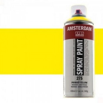 N.256 ACRIL. AMSTERDAM SPRAY 400ml AMARIL. REFL.