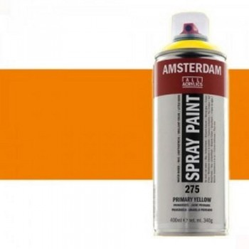 N.276 ACRIL. AMSTERDAM SPRAY 400ml ANARANJ. AZO