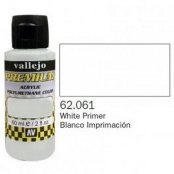 VALLEJO PREMIUM Bottle 60ml Blanco Imprimación