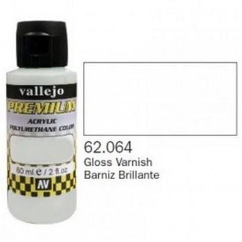 VALLEJO PREMIUM Auxiliary 60ml Barniz Brillante