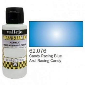 VALLEJO PREMIUM Candy Colors 60ml Azul Racing Candy