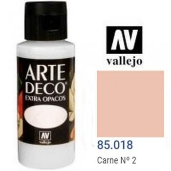 N.018 VALLEJO ARTE DECO- Carne N. 2 60ml OPACO