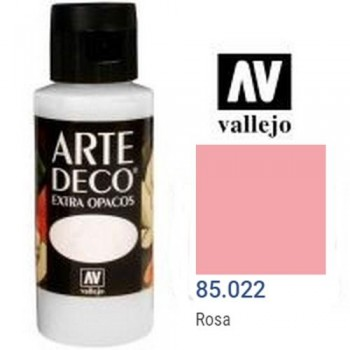 N.022 VALLEJO ARTE DECO- Rosa 60ml OPACO