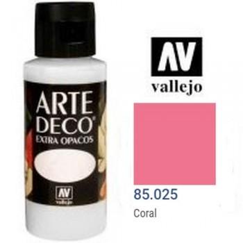N.025 VALLEJO ARTE DECO- Coral 60ml OPACO