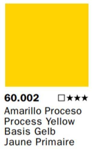 Inks Color Amarillo Proceso