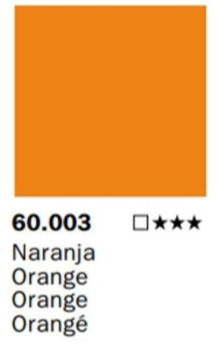 Inks Color Naranja