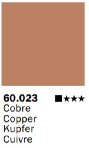 Inks Color Cobre