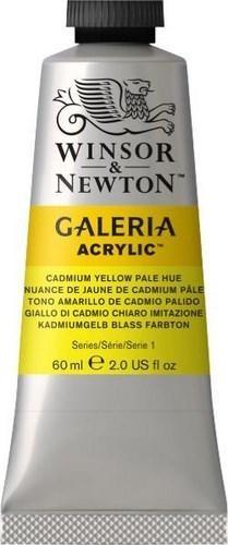 N.114 W&N ACRI. GALERIA - TONO PÁLIDO DE AMARILLO CADMIO