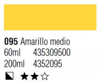 ÓLEO START 200ml 095 AMARILLO MEDIO