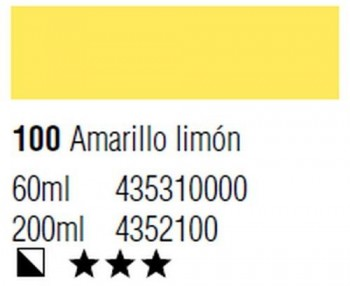 ÓLEO START 200ml 100 AMARILLO LIMÓN