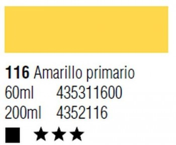 ÓLEO START 200ml 116 AMARILLO PRIMARIO