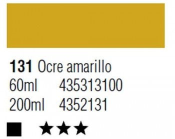 ÓLEO START 200ml 131 OCRE AMARILLO