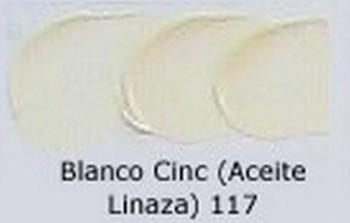 N.117 OLEO REMBRANDT BLANCO DE CINC(L)