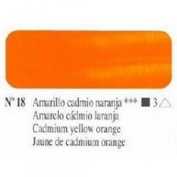 N018 AMARILLO CADMIO NARANJA ÓLEO TITÁN EXTRA FINO