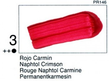 N.003 VALLEJO STUDIO - Rojo Carmín