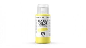 N.011 VALLEJO TEXTIL- Amarillo Limón - Basic Color