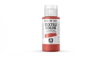 N.022 VALLEJO TEXTIL- Rojo (Opaco) - Basic Color