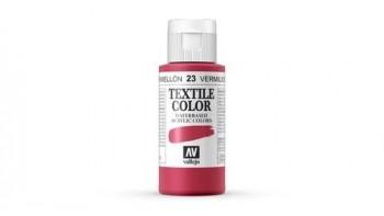 N.023 VALLEJO TEXTIL- Bermellón - Basic Color