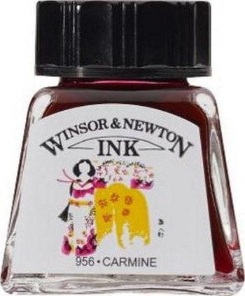 N.127 W&N TINTA 14ml CARMÍN